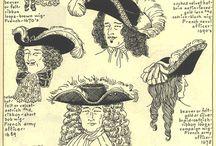 klobouky - účesy
