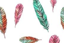 dibujos plumas / by Maribel FV