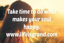 Life is Grand Blog Posts / Career and Wellbeing articles from Life is Grand.com.au / by Carrie Hatchett