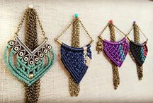 Necklaces Dreamade by Demeter / Handmade macrame necklaces