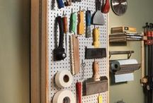 tablero herramientas pared
