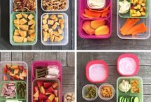 Healthy eating bento boxes