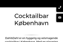 Cocktailbarer Kbh / Vi drikker os gennem Kbh