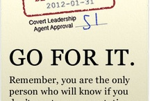 Inspirations, Learnings, Leadership and Career Advice / by Covert Leadership