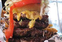 Burger Heaven!!! / Burgers, Burgers, Burgers / by Ki'erra Traneci♥