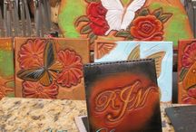 Leather Handcrafted - TeamVintageUSA / Custom tooled and completely handmade.