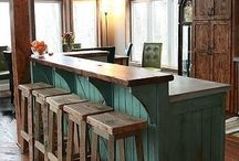 kitchen island ideas / by Brianna Holifield