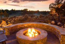 Fire Pit / Built in braai