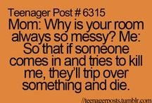 Teenager Post / by Marina Patterson