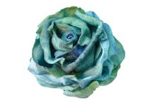 Flower DIY / Luculia Brand made flower from fabric with natural look.