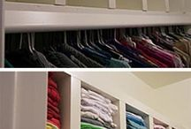 Organize your home / Indoor organizing- hacks to make your life easier