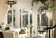 Tall window treatments