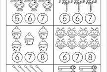 Luvut ja lukumäärät 6-9 / Jakso 3. Näppituntuma 1.