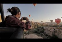 HOT AIR BALLOON RIDE WITH BUTTERFLY BALLOONS IN CAPPADOCIA, TURKEY