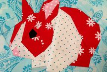 Paper Piecing Addiction / Like drugs, but better because you end up with a quilt. / by Alison V