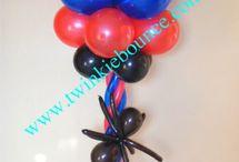 Spiderman Balloon Ideas!
