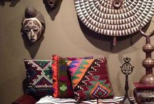 Afrocentric Home / Trendy Afrocentric patterns and textures
