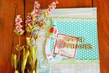 Paper Artwork / mix and match papers and make it beautiful. originally made by House of Smichi. ♥