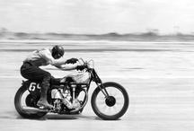 One down - Three up / Retro motorbike stuff - circa 60s 70s