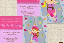 Rock climbing party / by April Walker