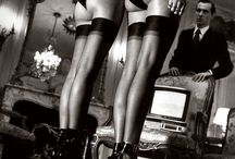 Helmut Newton Photography / Helmut Newton German-Australian photographer. He was the ultimate provocateur in fashion photography. His erotically charged black & white photographs changed the mainstream of fashion publications.