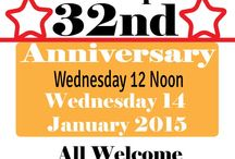 Events- Anniversaries - January 2015