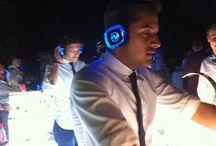 Wedding bar silent disco party