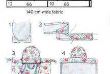 Pattern sewing-Patronen naaiwerk