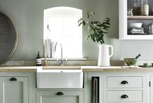 sage green interiors