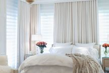 Bedroom Design Inspiration  / Some great bedrooms I found online....