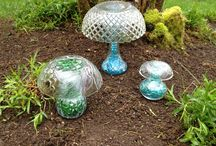 Garden - DIY Decor and Crafts / Add a little whimsy to your flower gardens. Lots of ideas for garden decor.