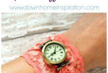 lace cuff watch