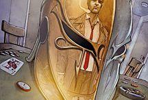 DC comics artwork