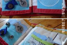 quiet book inspiration / I plan to design and make one of these one day ...
