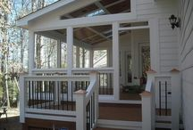 Covered porch/decks