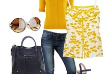 Navy and Yellow / by Joie Linser