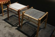 ICFF New York 2014 / Presented new additions to the existing Brick, Corner and Leather Collections and unveiling the Loom Collection; a distinctive seating range inspired by a manual belt-making loom, typical to the city of Oaxaca, Mexico.