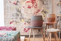 Chelsea Showroom / Welcome to our shop on Fulham Road in London. We're open Monday - Saturday 10-5.30. We stock well-designed rugs and accessories for the home - new designs come in all the time 263 Fulham Road, London SW3 6HY Tel 020 7193 0505