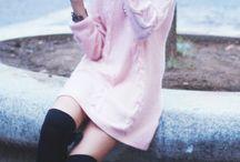 Pink hair fashion