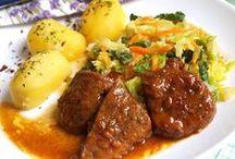 recepty mäsové