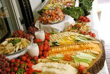 Cold buffet set ups