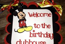 Mickey Mouse Bday ideas.