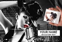 Sin City Style / Ihr Bild personalisiert im Sin-City Stil. Auf Leinwand und auf Poster.