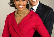 Barack and Michelle / Everything Obama - Love Waking Up In The Morning and Knowing That Barack Obama is MY President. / by R!cårdo Råfael