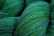 Knitting (plus a little crochet, macrame, chinese knotting, etc.) / by Lurinda
