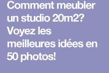 Aménagement studio