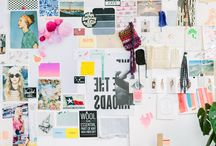 Moodboards.