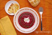 Zuppe e Vellutate / Le mie ricette per le zuppe e le vellutate
