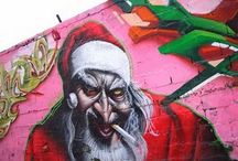 Christmas graffiti  / Christmas graffiti