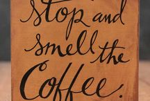 Coffee Coffee Coffee! / Coffee kitchen decorating ideas, coffee quotes and signs, recipes, eye candy, photos, and more, all dedicated to that most beloved drink.